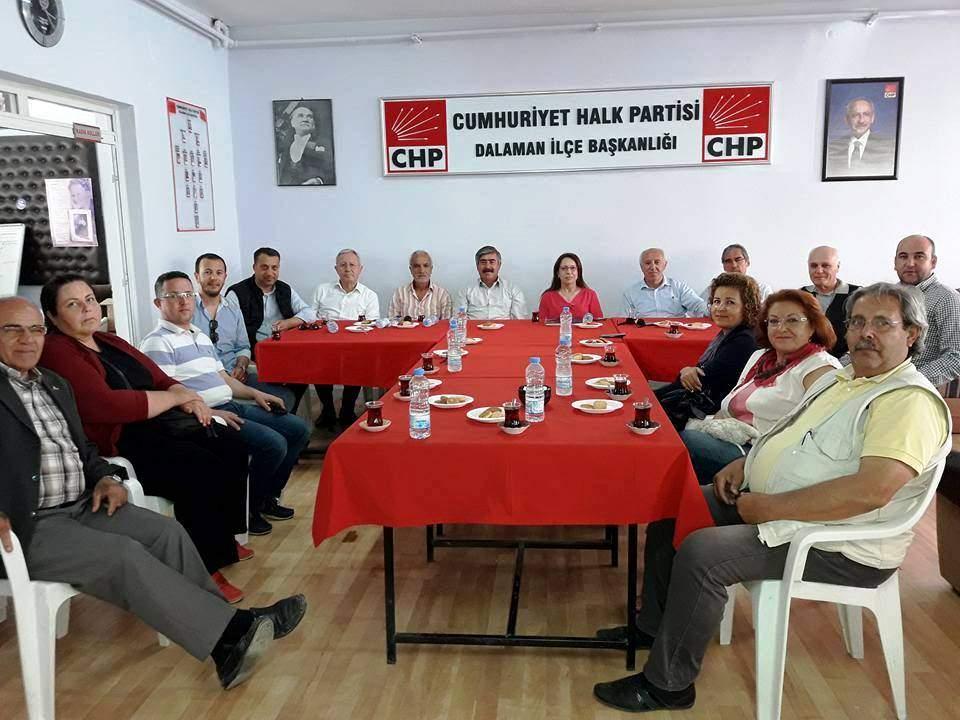 CHP İL DİSİPLİN KURULU DALAMAN DA TOPLANDI