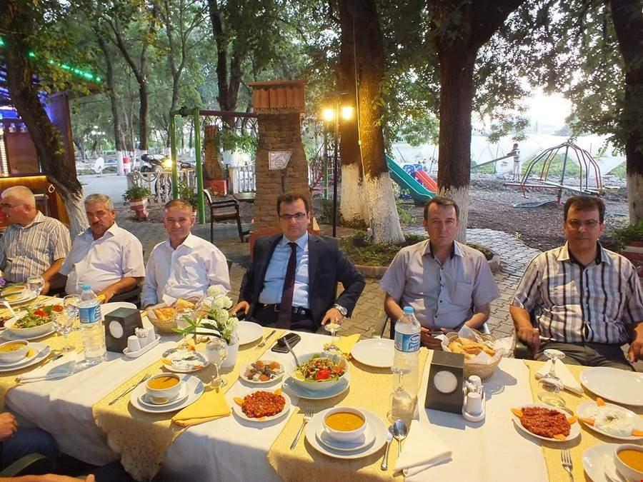 Kaymakamlık personeli iftar yemeğinde bir araya geldi