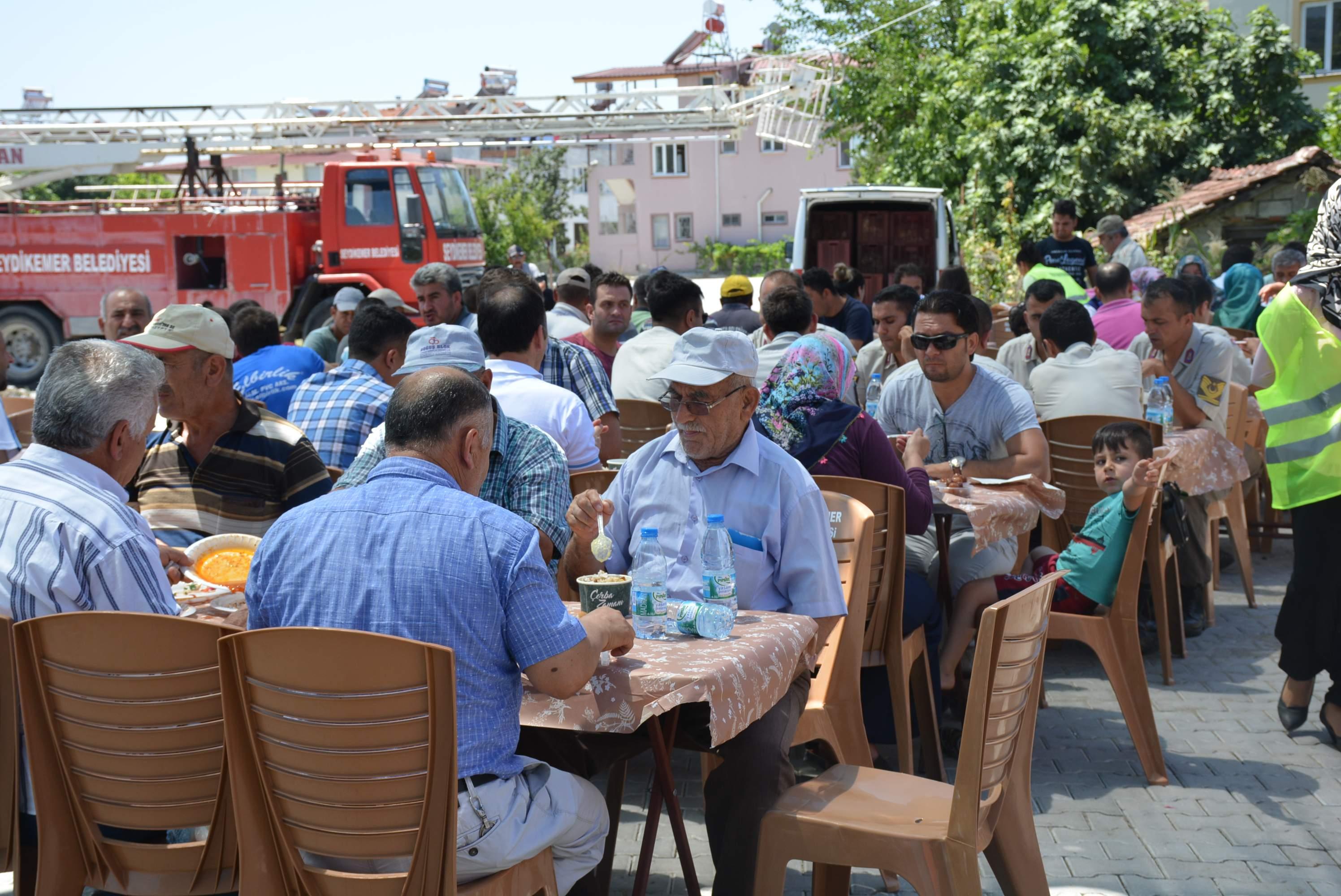 Şehit Uzman Çavuş Alper SEVEN için 52 yemeği düzenlendi.