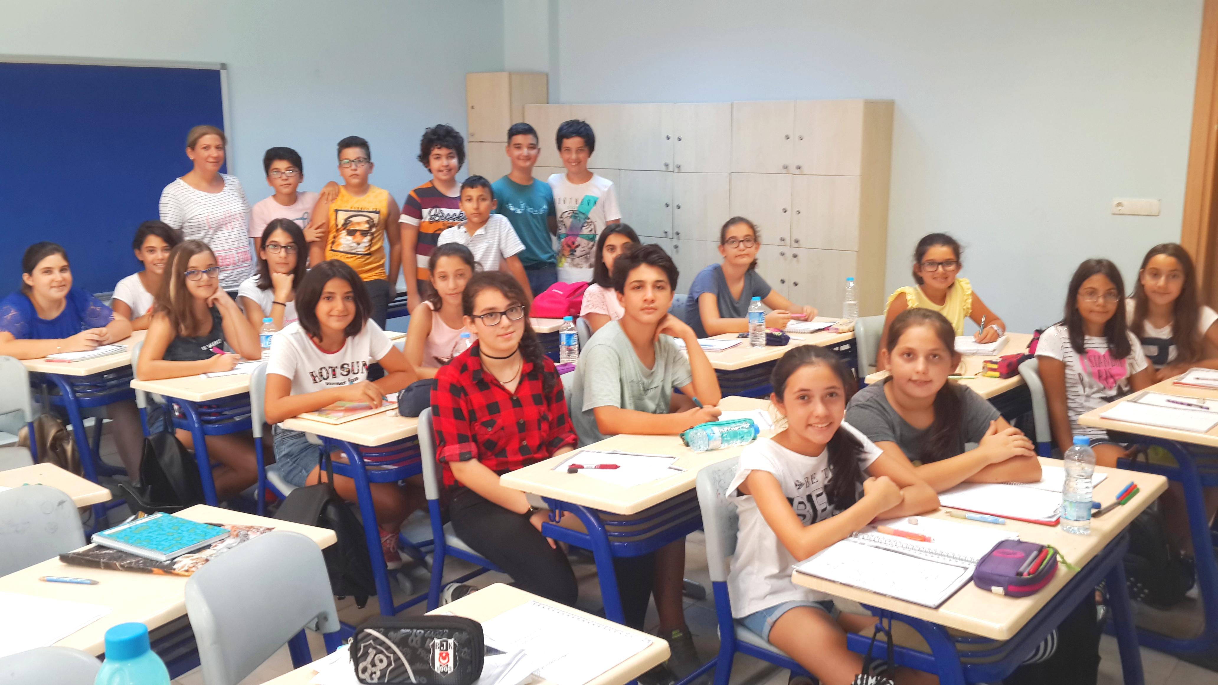 Özalp Ortaokulu Tübitak Matematik Olimpiyatlarına Hazırlanıyor