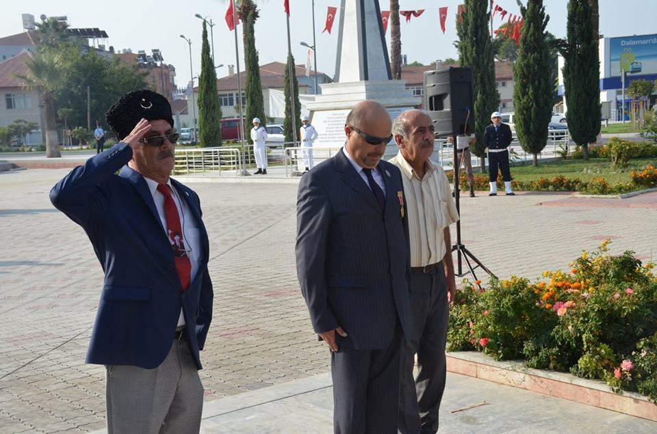 '19 Eylül Gaziler Günü' düzenlenen törenle anıldı