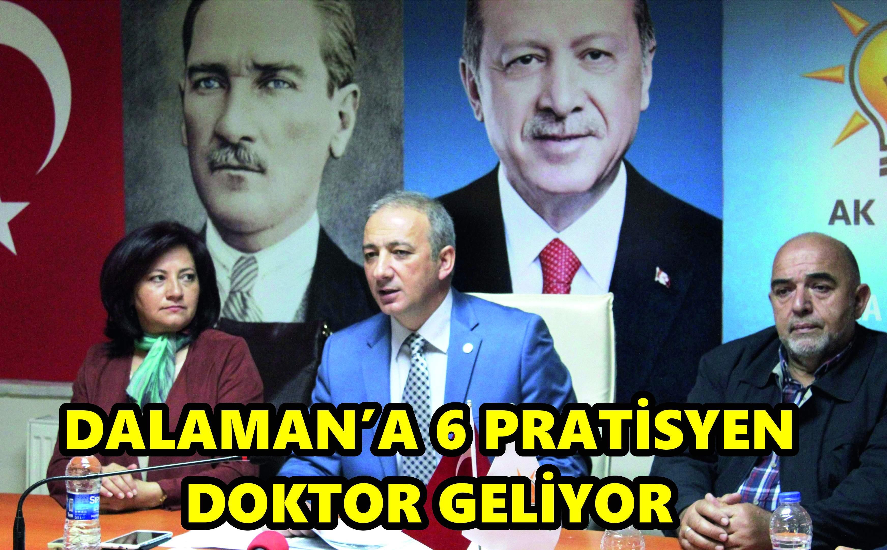 DALAMAN'A 6 PRATİSYEN DOKTOR
