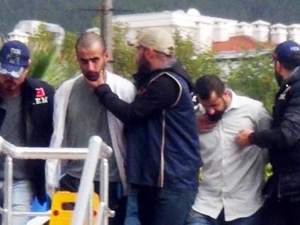 Dalaman'da Yakalanan PKK'lı Terörist Adliyeye Sevk Edildi