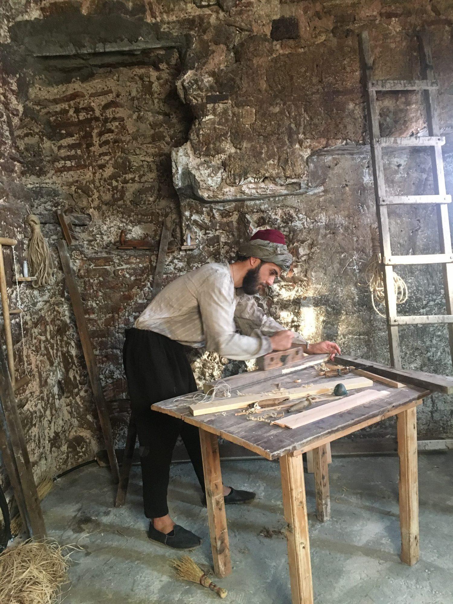 Mimar Sinan'ın Gençlik Yıllarını Canlandırdı
