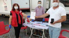 Dalaman Kızılay Şubesi 185 ünite kan aldı ve 123 bin tl yardım dağıttı.