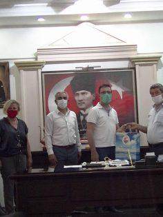 THERMEMARİS HOTELDEN MUHTARLARA MASKE