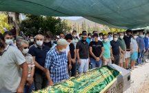 GÜRKÖY DE TRAFİK KAZASINDA ÖLEN GENÇLER ORTACA DA GÖZYAŞLARI İLE UĞURLANDILAR.