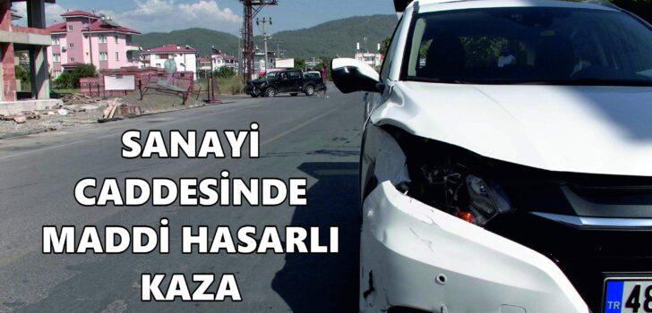 DALAMAN SANAYİ SİTESİ YOLUNDA KAZALAR ARTMAYA BAŞLADI